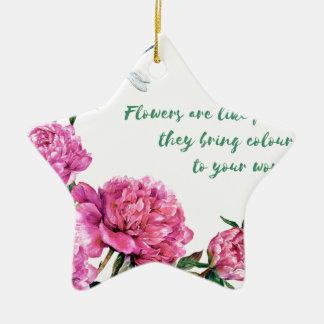 Blumen sind wie friends.JPG Keramik Ornament
