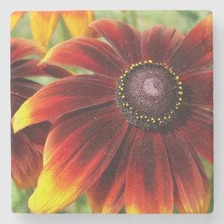 Blumen-Sommer-Foto Marmor-Stein-Untersetzer Steinuntersetzer