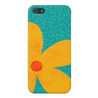 Blumen-Speck-Kasten iPhone 5 Cover