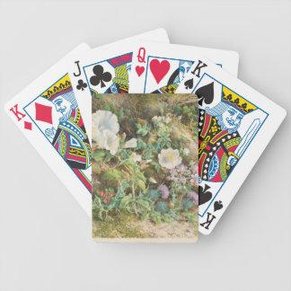 Blumen-Studie - John Jessop Hardwick Bicycle Spielkarten