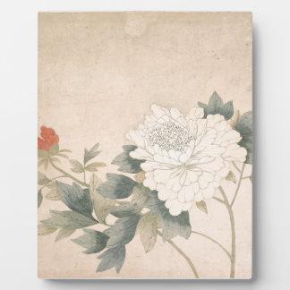 Blumen-Studie - YUNBing (chinesisch) Fotoplatte
