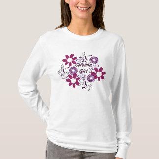 Blumen-T - Shirt Carolinas Girl~Purple