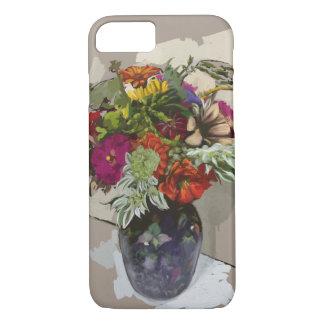 Blumen-Telefon-Kasten iPhone 8/7 Hülle