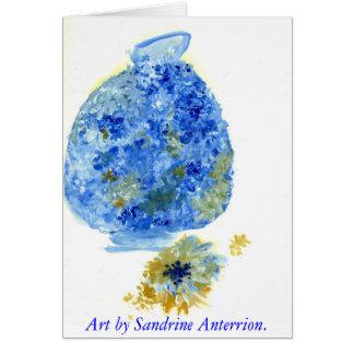 Blumen-Topf durch Sandrine Anterrion. Karte