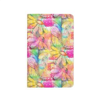 Blumen-Träume Taschennotizbuch