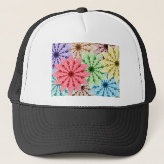 Blumen Truckerkappe