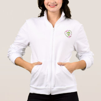 Blumen- u. grünes personalisiertes Lehrer-Shirt