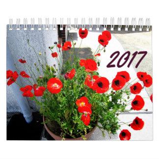 Blumen und Baum-Kalender 2017 Wandkalender
