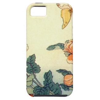 Blumen und ein Schmetterling Hülle Fürs iPhone 5