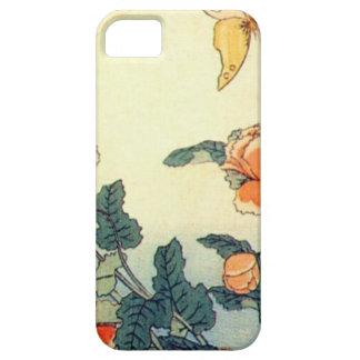 Blumen und ein Schmetterling iPhone 5 Hülle