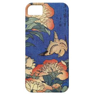 Blumen und ein Vogel Hülle Fürs iPhone 5