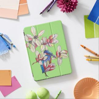 Blumen und ein Vogel iPad Air Hülle