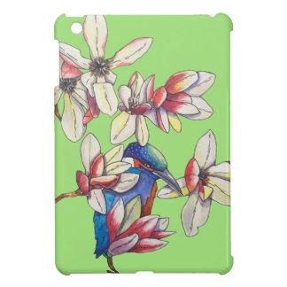 Blumen und ein Vogel iPad Mini Hülle