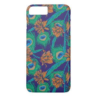 Blumen und Federn iPhone 8 Plus/7 Plus Hülle
