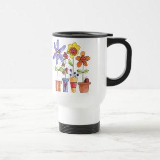 Blumen- und Froschreise-Tasse
