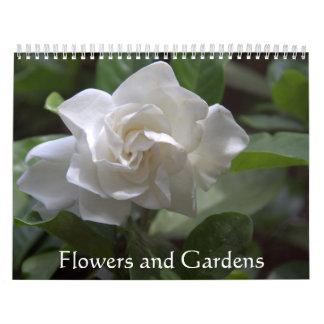 Blumen und Gärten Kalender