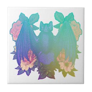 Blumen und Schläger Keramikfliese