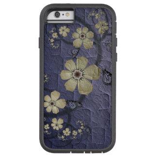 Blumen und Schmetterlinge Tough Xtreme iPhone 6 Hülle