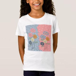 blumen und Schmetterlinge T-Shirt