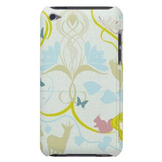Blumen und Tiere iPod Touch Hülle