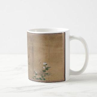 Blumen und Vögel der vier Jahreszeiten Kaffeetasse