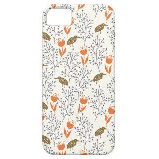 Blumen und Vogel-neutrale Person Phonecase iPhone 5 Hülle