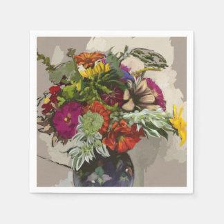 Blumen-ursprüngliche Kunstdruckpapier-Serviette Papierserviette