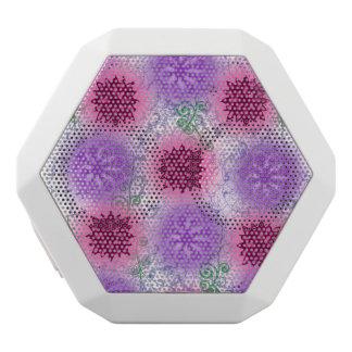 Blumen Weiße Bluetooth Lautsprecher