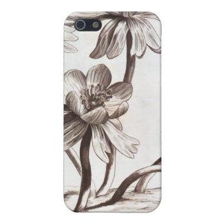Blumen-Zeichnen iPhone 5 Case