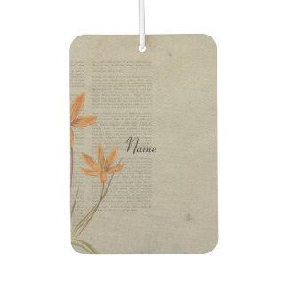 Blumen-Zeitung Lufterfrischer