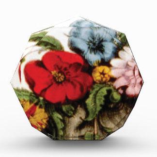 Blumenanordnungszeichnen Acryl Auszeichnung