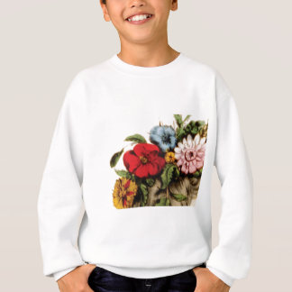 Blumenanordnungszeichnen Sweatshirt