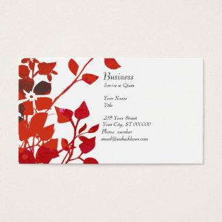 Blumenaqua-Medien des Aquarell-| modern Visitenkarte