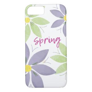 BlumenAquarell-Frühling iPhone Fall iPhone 8/7 Hülle