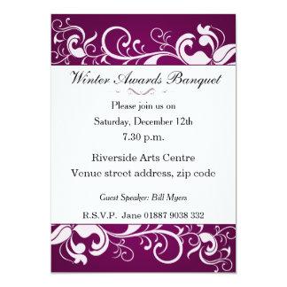Blumenbankett-Einladung 12,7 X 17,8 Cm Einladungskarte