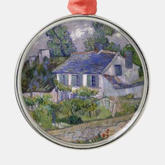 Blumenbaum gogh Blütenrebe-Pflanzengrün Silbernes Ornament