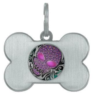 Blumenblasen-Schädel Tiermarke