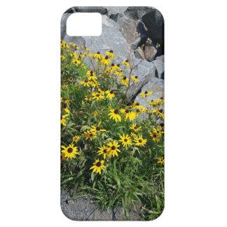 Blumenblatt-Felsen-Telefon-Kasten iPhone 5 Cover