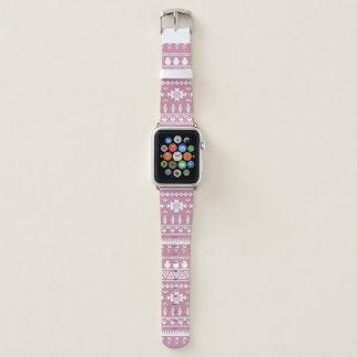 Blumenblatt rosa südwestliches Apple passen Apple Watch Armband