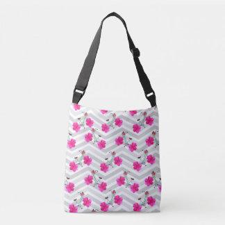 Blumenblatt-Schieber-Zickzack Taschen-Tasche Tragetaschen Mit Langen Trägern