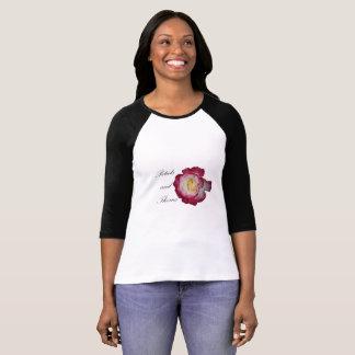 Blumenblätter und Dornen 3/4 Raglan-Shirt T-Shirt