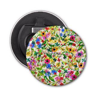 BlumenBlumen des niedlichen bunten Frühlinges Flaschenöffner