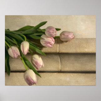BlumenBlumen-Gewohnheit personifizieren Jahrestage Poster