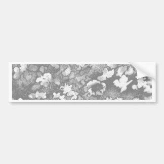 BlumenBlumen-graues Weiß-elegante moderne Autoaufkleber