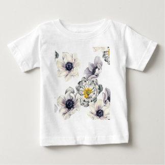 BlumenBlumen-Pfingstrosen-Anemonen-neuer Frühling Baby T-shirt