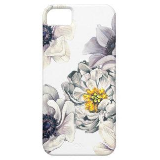 BlumenBlumen-Pfingstrosen-Anemonen-neuer Frühling Hülle Fürs iPhone 5