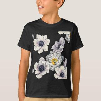 BlumenBlumen-Pfingstrosen-Anemonen-neuer Frühling T-Shirt