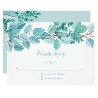 Blumenblüten, die UAWG Karte Wedding sind