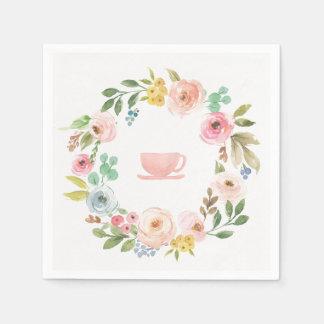 BlumenBrautparty-Tee-Party-Servietten Papierservietten