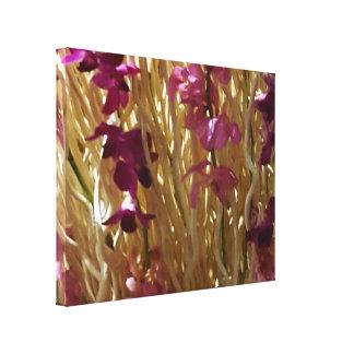 Blumenbüro-Dekor des Zuhause-1Pretty Leinwanddruck